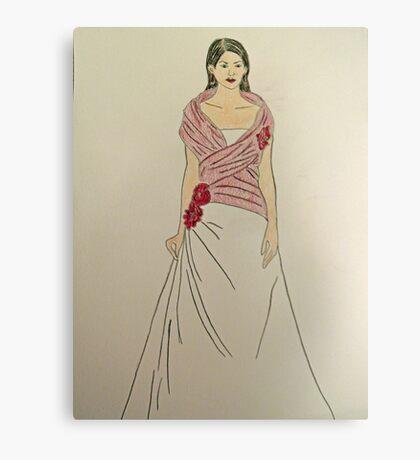 Wedding Dress No 2 Canvas Print