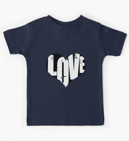 Love in Heart Kids Tee