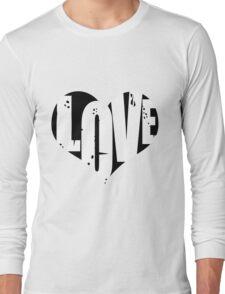 Love in Heart Long Sleeve T-Shirt