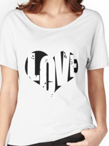 Love in Heart Women's Relaxed Fit T-Shirt