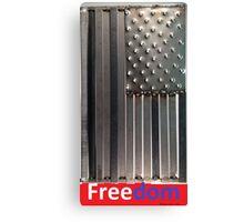 Bullet Freedom Flag 2 Canvas Print