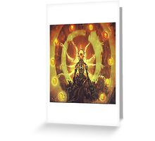 OVERWATCH ZENYATTA Greeting Card