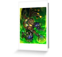 OVERWATCH LUCIO Greeting Card
