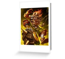 OVERWATCH JUNKRAT Greeting Card