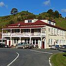 Whangamomona Hotel, New Zealand by Margaret  Hyde
