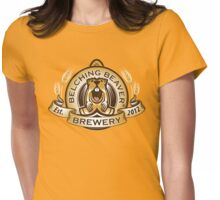 Belching Beaver Brewery Womens Fitted T-Shirt