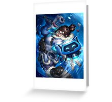 OVERWATCH MEI Greeting Card