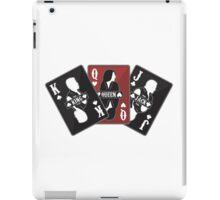 """Sons of Anarchy - """"Cards"""" (Clay, Gemma, Jax) iPad Case/Skin"""