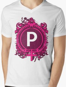 FOR HER - P Mens V-Neck T-Shirt