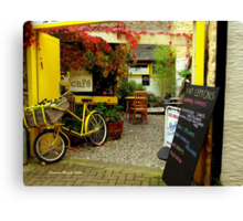 'Magical Cafe' in Totnes, Devon Canvas Print