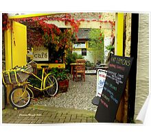 'Magical Cafe' in Totnes, Devon Poster
