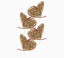 Heart Spirals Kids Tee