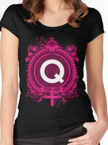 FOR HER - Q Women's Fitted Scoop T-Shirt