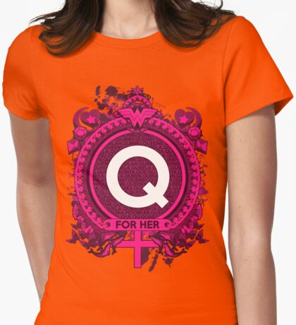 FOR HER - Q Womens Fitted T-Shirt