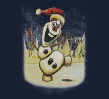 Christmas Olaf from Disney Frozen by Evan Wimperis