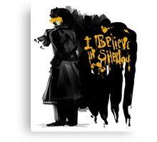 I believe in Sherlock  Canvas Print