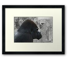 looking up to the light Framed Print