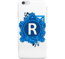 FOR HIM - R iPhone Case/Skin