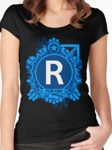 FOR HIM - R Women's Fitted Scoop T-Shirt