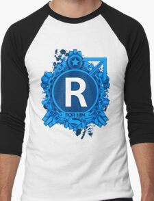 FOR HIM - R Men's Baseball ¾ T-Shirt
