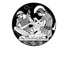 Achilles Patroclus Photographic Print