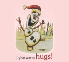 Olaf from Disney Frozen Gives Warm Christmas Hugs Kids Clothes