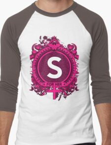 FOR HER -S Men's Baseball ¾ T-Shirt