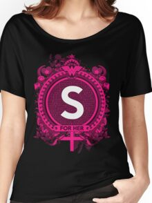FOR HER -S Women's Relaxed Fit T-Shirt