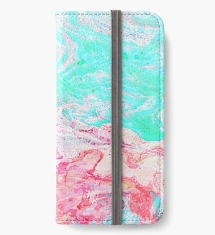 Paper Marble #redbubble #lifestyle iPhone Wallet