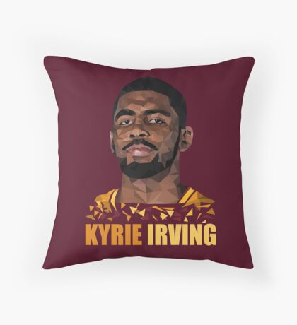 Kyrie Irving Throw Pillow