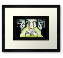 Egg Custardy Framed Print