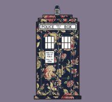 Floral TARDIS Kids Clothes