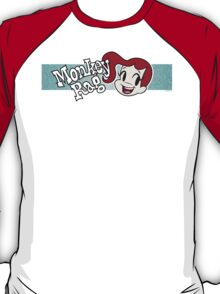 Monkey Rag - Mitzi Smile And Logo T-Shirt