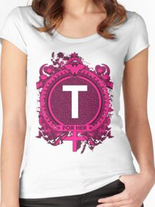 FOR HER - T Women's Fitted Scoop T-Shirt