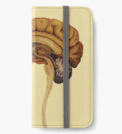 Sagittal Brain iPhone Wallet/Case/Skin