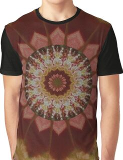 Coloured Gravel in Amber Graphic T-Shirt