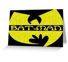 Bat-Man Clan (yellow) Greeting Card