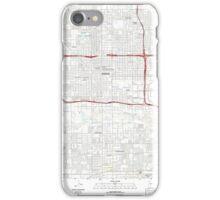 USGS TOPO Map Arizona AZ Phoenix 20111021 TM iPhone Case/Skin