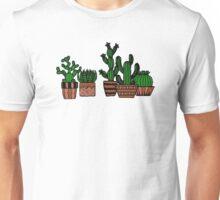 Cacti Illustration Unisex T-Shirt