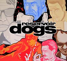 reservoir dogs colors by gjnilespop