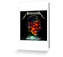 Metallica Greeting Card