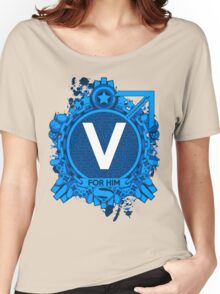 FOR HIM - V Women's Relaxed Fit T-Shirt