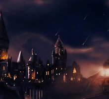 Journey to Hogwarts by danielctuck