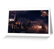 Journey to Hogwarts Greeting Card