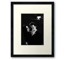 Gomez and Morticia Addams Framed Print