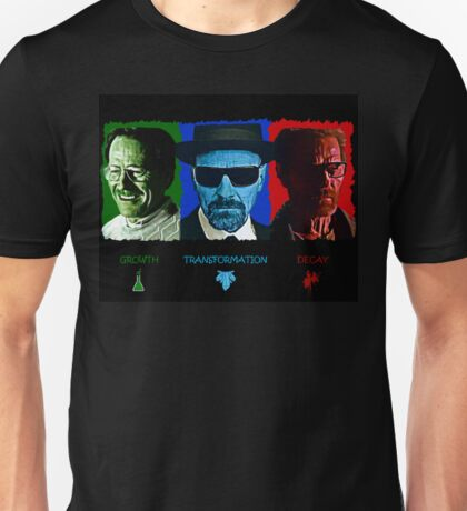 The Rise and Fall of Walter White Unisex T-Shirt