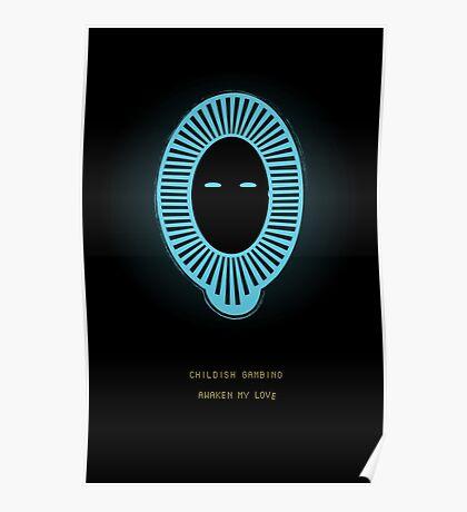 Awaken My Love Custom Illustration Poster