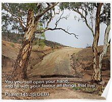Flinders Outback Dirt Road Poster