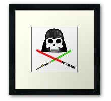 Jolly Vader Roger Framed Print