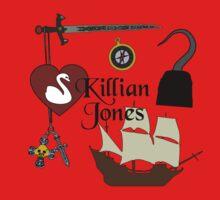 Killian Jones/Captain Hook Comic Icons One Piece - Short Sleeve
